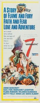 7 Women - Movie Poster (xs thumbnail)