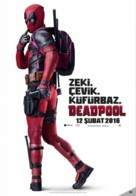 Deadpool - Turkish Movie Poster (xs thumbnail)