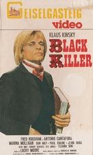 Black Killer - German VHS cover (xs thumbnail)
