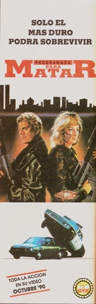 Programmed to Kill - Argentinian Movie Poster (xs thumbnail)