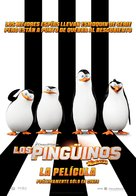 Penguins of Madagascar - Mexican Movie Poster (xs thumbnail)