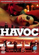Havoc - British DVD cover (xs thumbnail)
