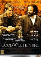 Good Will Hunting - Danish DVD movie cover (xs thumbnail)