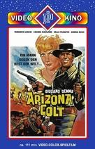 Arizona Colt - German DVD cover (xs thumbnail)