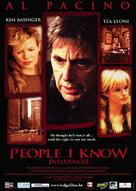 People I Know - Belgian Movie Poster (xs thumbnail)