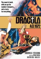 Dracula A.D. 1972 - British Movie Cover (xs thumbnail)