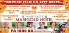 The Best Exotic Marigold Hotel - Norwegian Movie Poster (xs thumbnail)