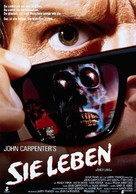 They Live - German Movie Poster (xs thumbnail)