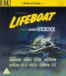 Lifeboat - British Blu-Ray movie cover (xs thumbnail)
