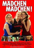 Mädchen, Mädchen - German Movie Poster (xs thumbnail)