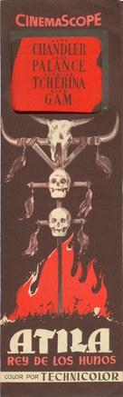 Sign of the Pagan - Spanish Movie Poster (xs thumbnail)