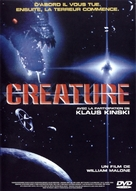 Creature - French DVD cover (xs thumbnail)
