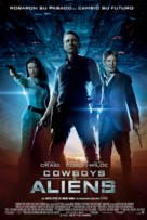 Cowboys & Aliens - Spanish Movie Poster (xs thumbnail)