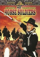 The Horse Soldiers - DVD cover (xs thumbnail)