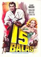 Fort Dobbs - Spanish Movie Poster (xs thumbnail)