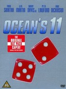 Ocean's Eleven - British DVD cover (xs thumbnail)