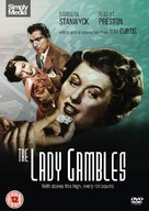 The Lady Gambles - British DVD movie cover (xs thumbnail)