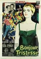 Bonjour tristesse - Italian Movie Poster (xs thumbnail)