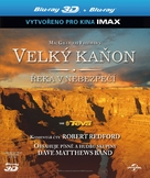 Grand Canyon Adventure: River at Risk - Czech Blu-Ray cover (xs thumbnail)