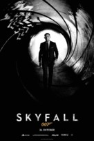 Skyfall - Danish Movie Poster (xs thumbnail)
