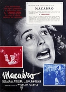 Macabre - Italian Movie Poster (xs thumbnail)