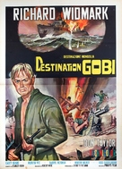 Destination Gobi - Italian Movie Poster (xs thumbnail)