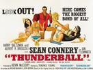 Thunderball - British Movie Poster (xs thumbnail)