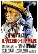 The Old Man and the Sea - Italian Movie Poster (xs thumbnail)