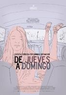 De jueves a domingo - Mexican Movie Poster (xs thumbnail)