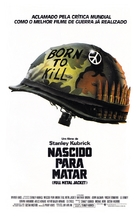 Full Metal Jacket - Brazilian Movie Poster (xs thumbnail)