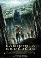 The Maze Runner - Latvian Movie Poster (xs thumbnail)