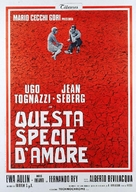 Questa specie d'amore - Italian Movie Poster (xs thumbnail)