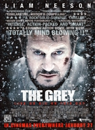 The Grey - British Movie Poster (xs thumbnail)