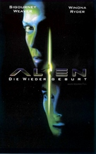 Alien: Resurrection - German VHS cover (xs thumbnail)