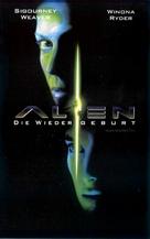 Alien: Resurrection - German VHS movie cover (xs thumbnail)