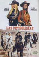 Les pétroleuses - Spanish Movie Poster (xs thumbnail)