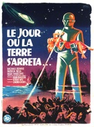 The Day the Earth Stood Still - French Movie Poster (xs thumbnail)