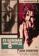 I Saw What You Did - German Movie Poster (xs thumbnail)