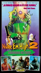 Class of Nuke 'Em High Part II: Subhumanoid Meltdown - VHS cover (xs thumbnail)
