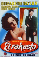Butterfield 8 - Finnish Movie Poster (xs thumbnail)