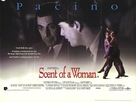 Scent of a Woman - British Movie Poster (xs thumbnail)