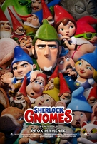 Sherlock Gnomes - Spanish Movie Poster (xs thumbnail)