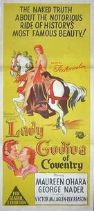 Lady Godiva of Coventry - Australian Movie Poster (xs thumbnail)