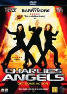 Charlie's Angels - Danish DVD cover (xs thumbnail)