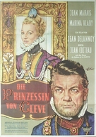 La princesse de Clèves - German Movie Poster (xs thumbnail)