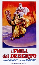 Sons of the Desert - Italian Theatrical poster (xs thumbnail)