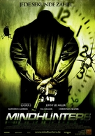 Mindhunters - German Movie Poster (xs thumbnail)