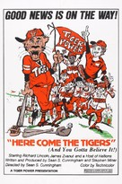 Here Come the Tigers - Movie Poster (xs thumbnail)