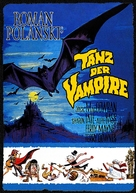 Dance of the Vampires - German Movie Cover (xs thumbnail)