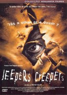 Jeepers Creepers - Brazilian Movie Cover (xs thumbnail)